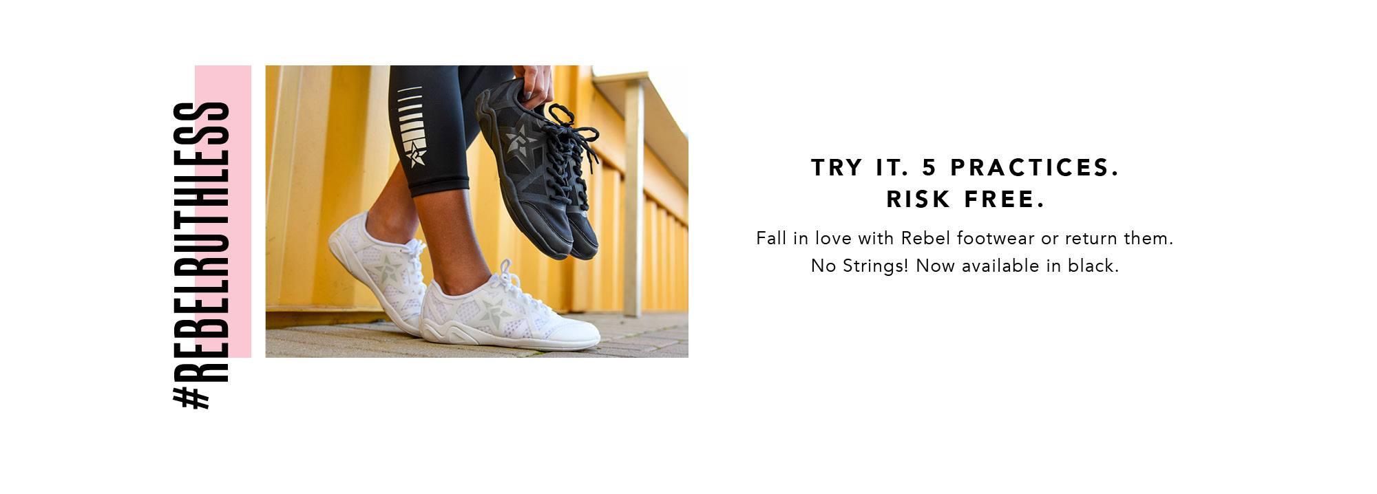 risk free guarantee rebel footwear