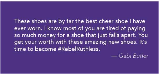 Gabi Butler Cheer Shoes