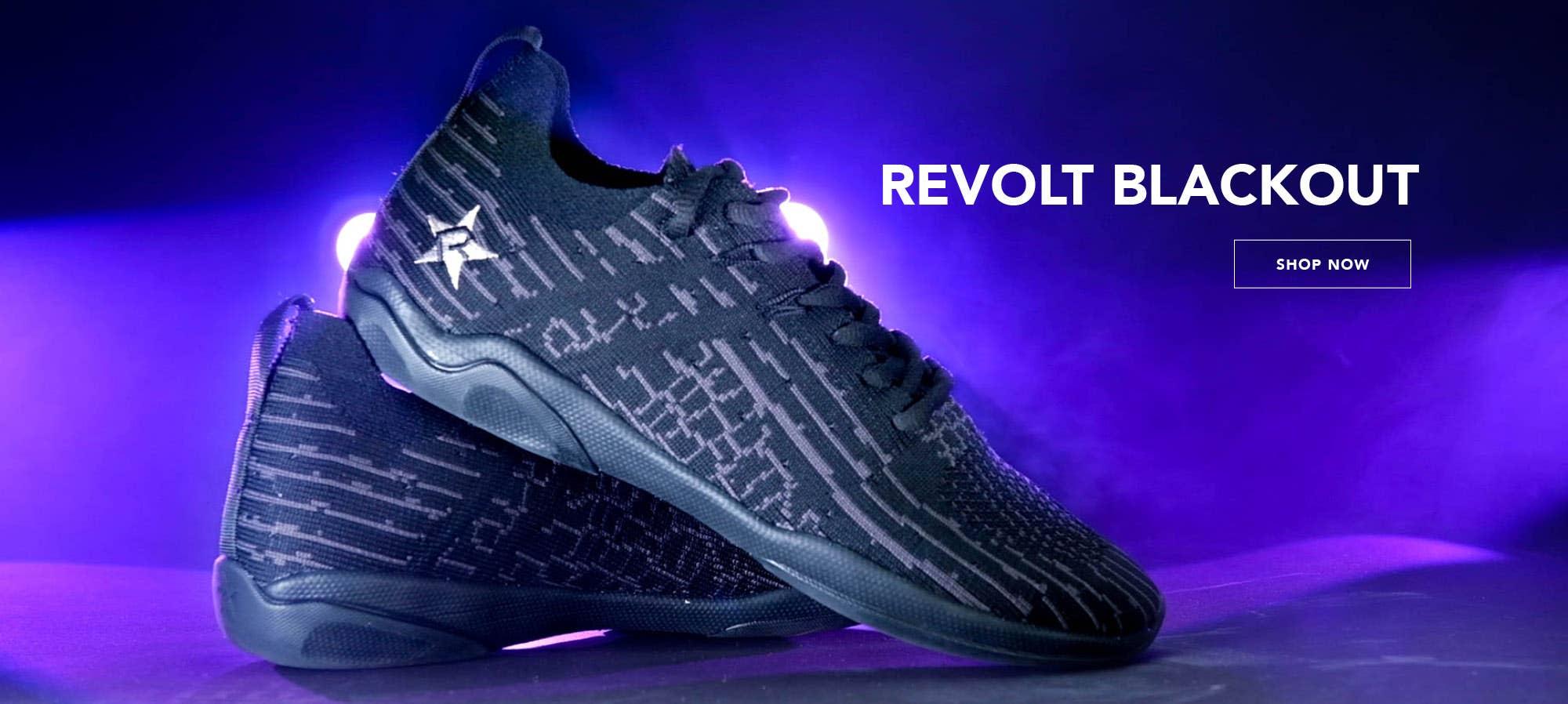 Rebel Revolt Blackout Cheer Shoes